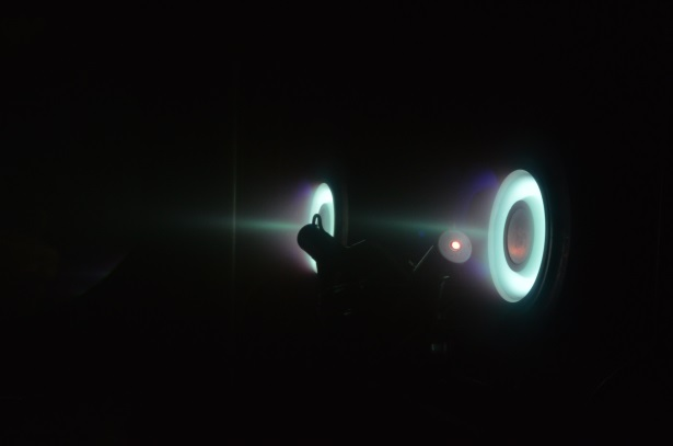 Test Operation of Propulsion System using clustered configurations of the thrusters